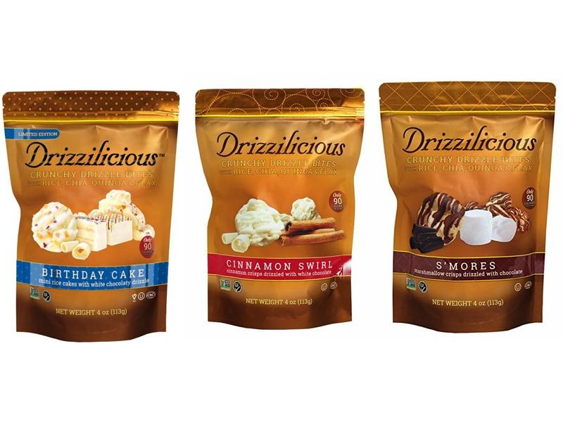 Drizzilicious Crunchy Drizzle Bites Range (113g)