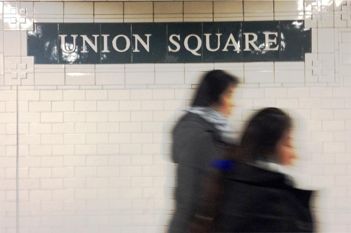 Union Square Subway, NYC, September 2014
