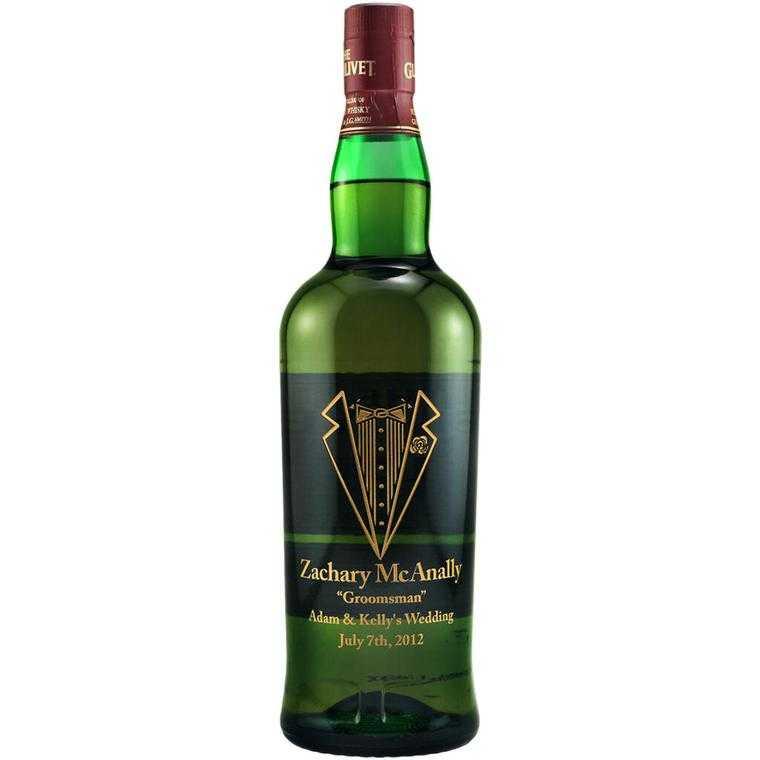 Personalized Whiskey Bottle