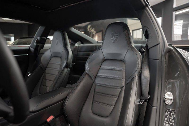 Porsche 911 992 4S PTS Schieffer Grau Slate Grey Sport Design Pakket 930 Leder vol Carbon 3.0 Carrera 4 S afbeelding 14