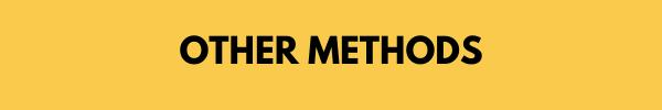 other methods header