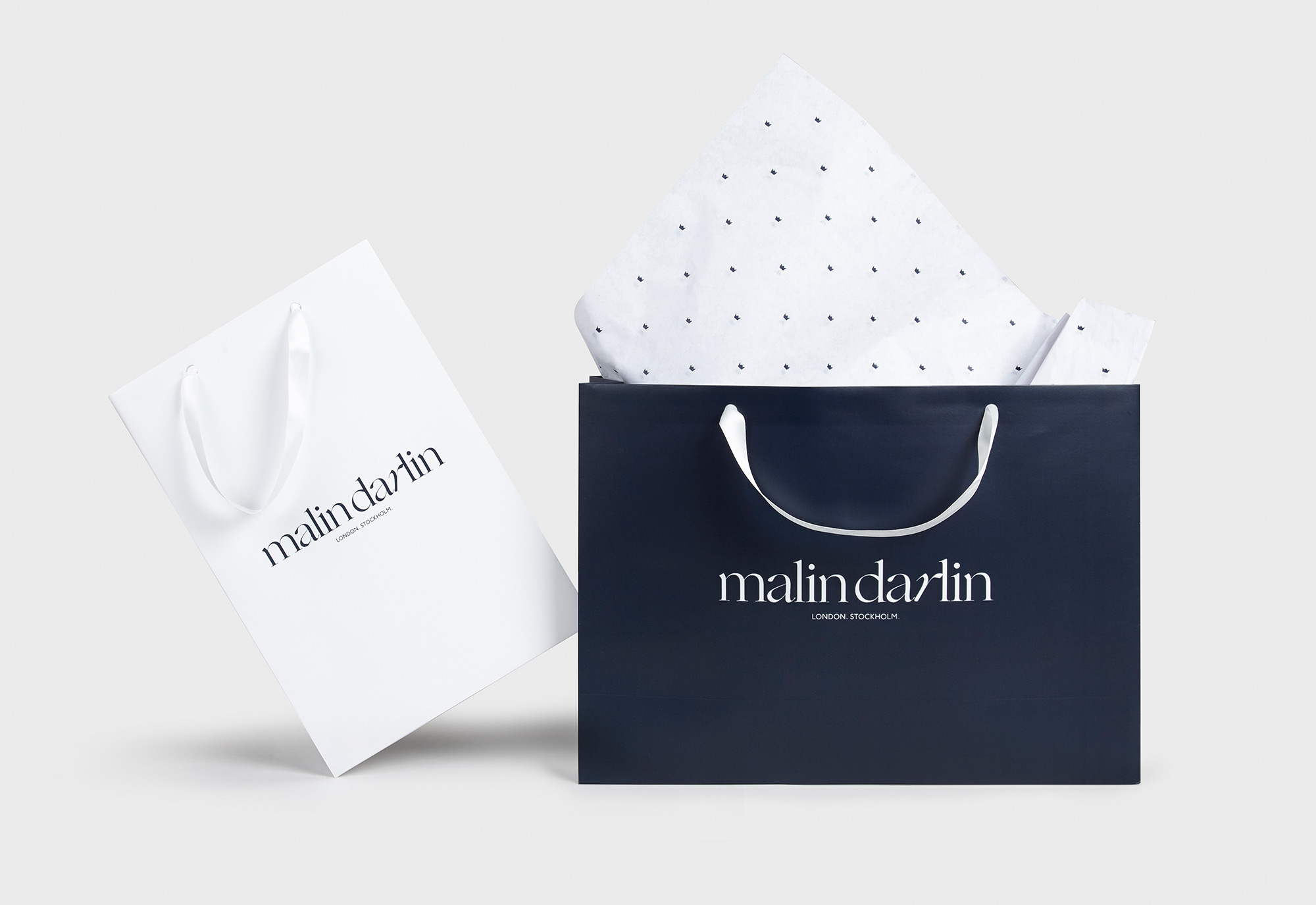 Malin Darlin Brand Identity by She Was Only