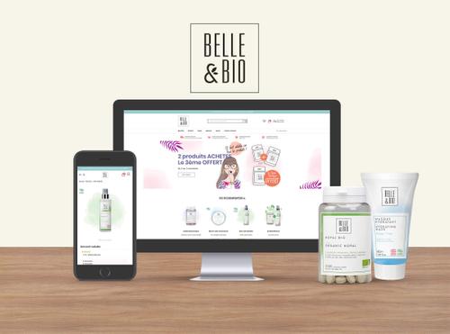 Refonte de la boutique Belle & Bio