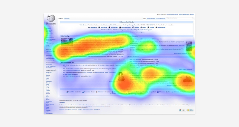 while conducting your heatmap analysis don't forget about eye tracking