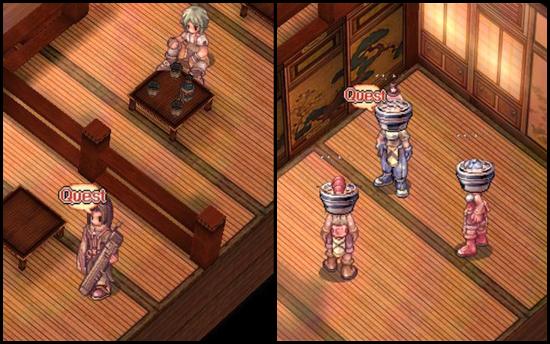 Amatsu Craftable Headgear NPCs screenshot