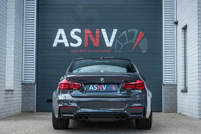 BMW 3 Serie M3 Competition DCTA, 450 PK, Facelift, Akrapovic, Harman/Kardon, Head/Up, LED, Surround View, Carbon, 2017, Org. NL!! afbeelding 21