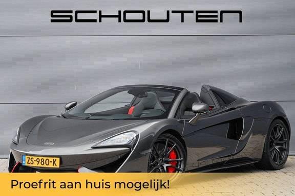 McLaren 570S Spider 3.8 V8 Noselift Camera Carbon Fiber