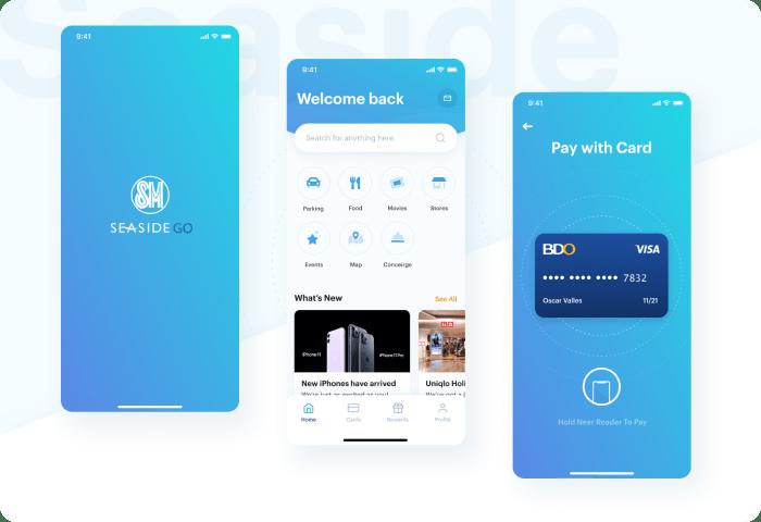 SM Seaside App Concept