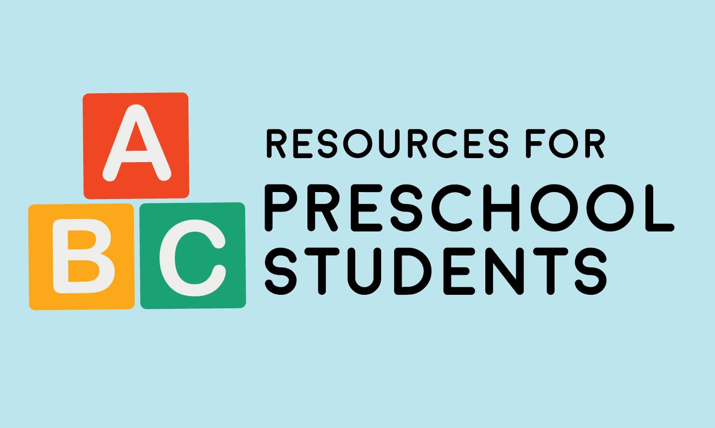 Preschool resources image