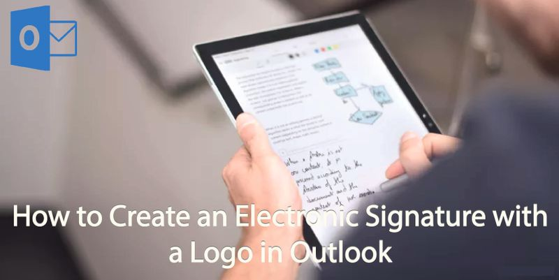 How to Create an Electronic Signature with a Logo in Outlook