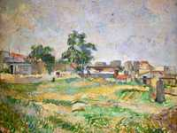 Cezanne's Landscape Near Paris was one of 16 works he showed at the third impressionist exhibition, held in 1877.