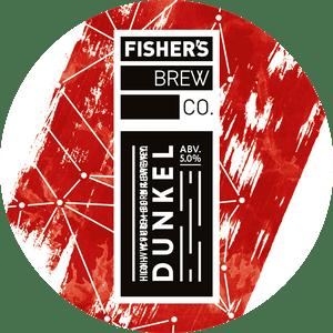 Fisher's Dunkel keg badge