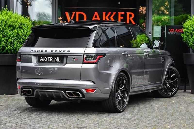 Land Rover Range Rover Sport 5.0 SVR CARBON+PANO.DAK+ACC+HEADUP NP.250K afbeelding 6