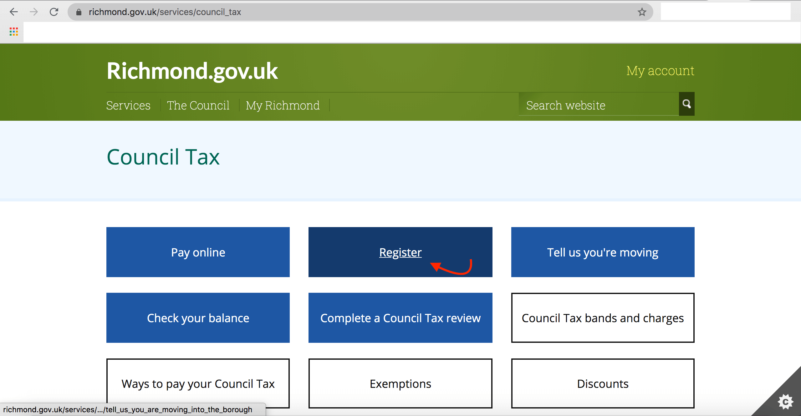 How to Cancel council tax