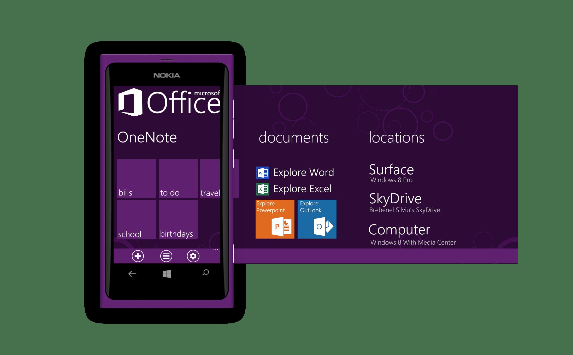 MS Office on Windows Phone