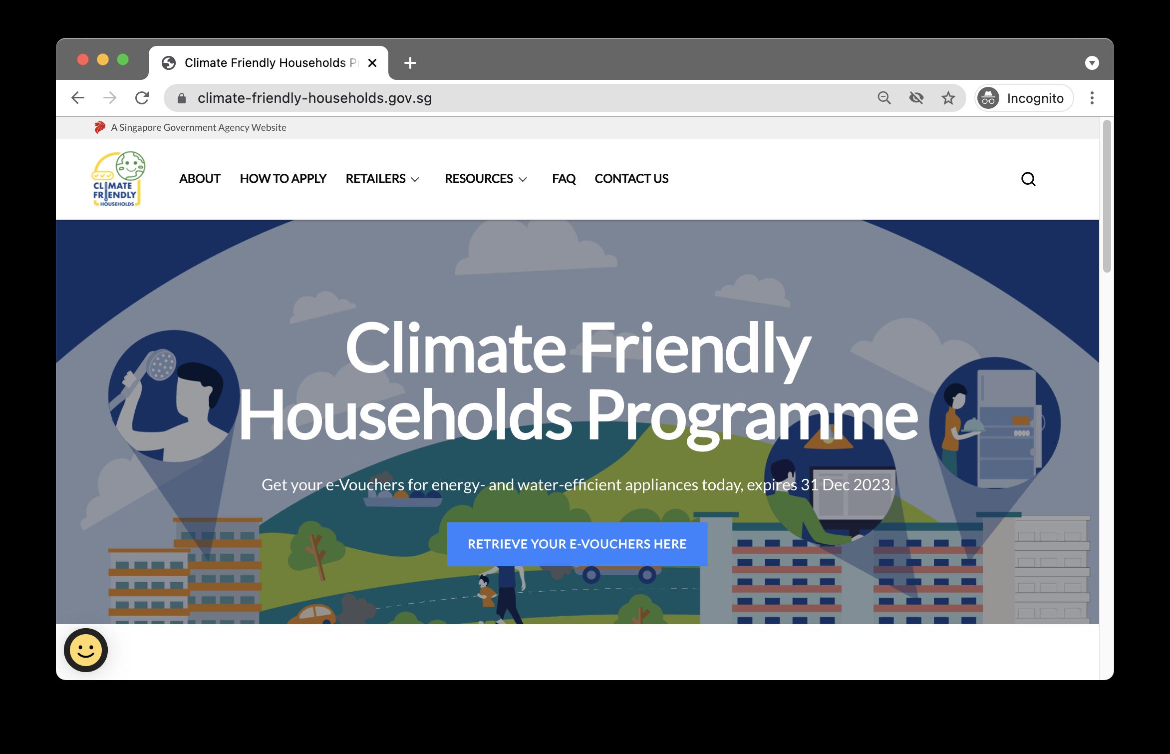 NEA/PUB Climate Friendly Households Programme