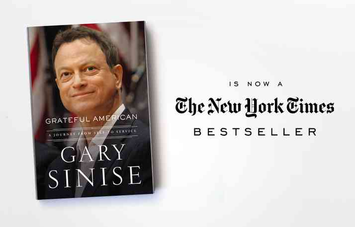 Upcoming Book Signings for Grateful American, Now a New York Times Bestseller!