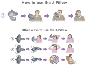 How to use J-pillow