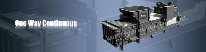 Scrap Baling Press, Scrap baling machine manufacturer India