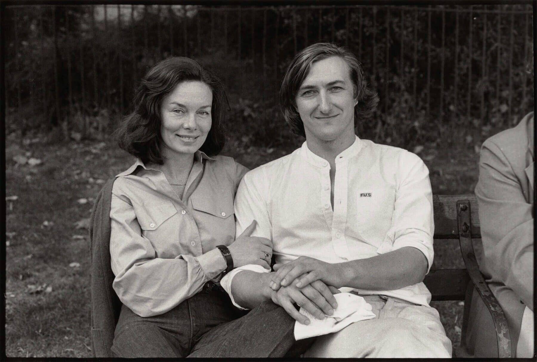 Джулиан Барнс и Пэт Кавана в 1978 году. Фото: Angela Gorgas / npg.org.uk