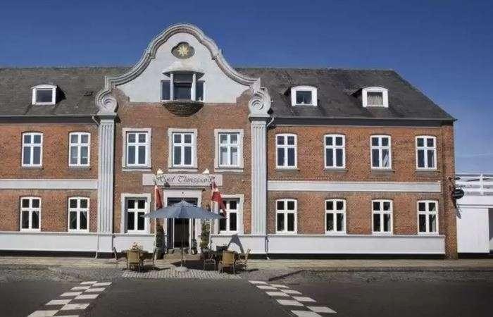 facaden af hotel thinggaard