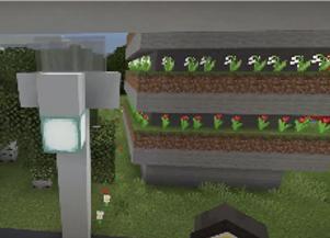 Intelligent lighting in Minecraft