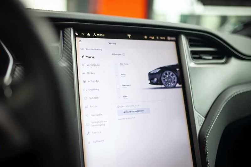 "Tesla Model S 100D Performance *Verb. Autopilot / 21"" LM / Pano* afbeelding 18"