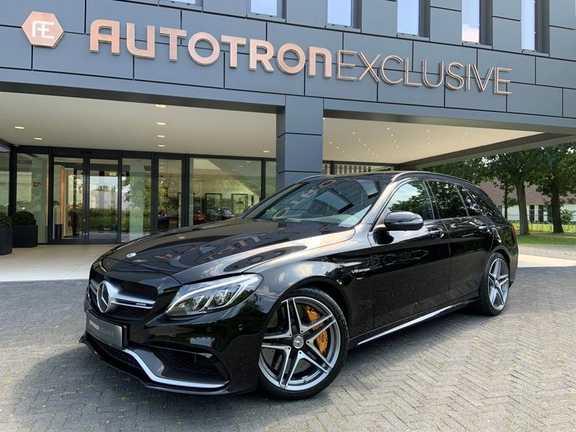 Mercedes-Benz C-Klasse Estate 63 AMG S Keramische Remmen + Sportstoelen + Head up + Adaptive Cruise Control
