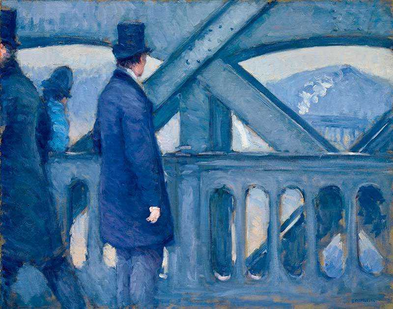 Caillebotte's Le Pont de l'Europe, esquisse was sold by Christie's New York for $8.18 million in November 2017