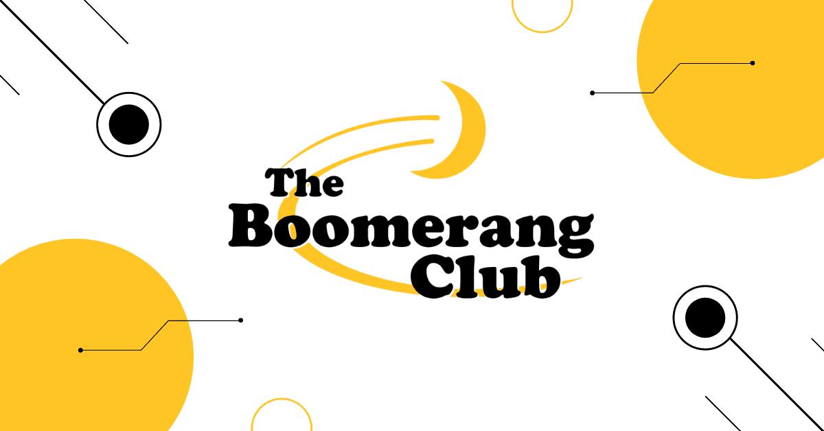 "The PM Group ""boomerang club"""