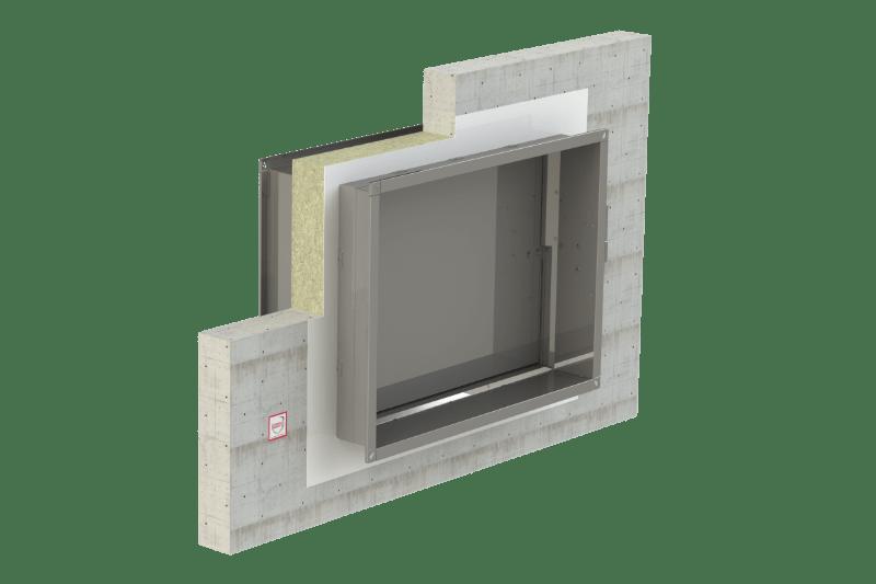 Protupožarno brtvljenje protupožarnih zaklopki - FS Coating