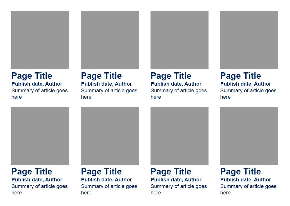 an example of a grid layout