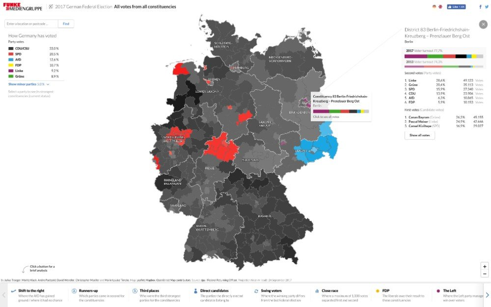 morgenpost germany map