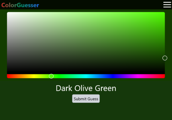 Hero image for ColorGuesser