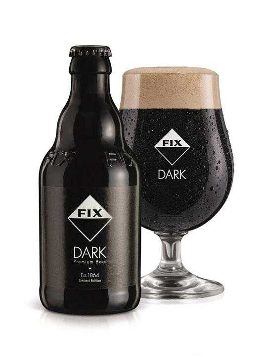 Μπύρα Fix Dark - 0.33l