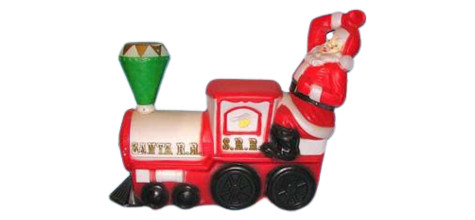 Santa Choo-Choo Train photo
