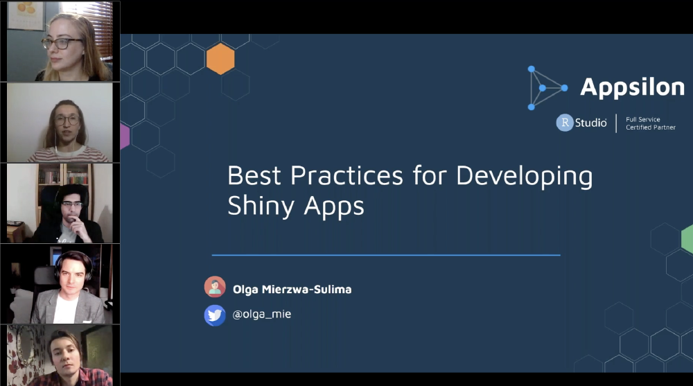 Best Practices for Developing Shiny Apps