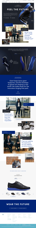Cole Haan Homepage