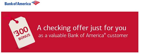 Bank of america bonus