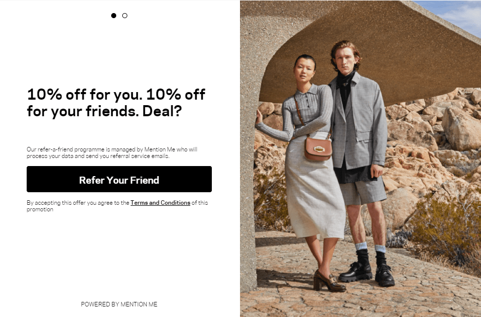 Farfetch referral program