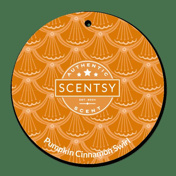 Picture of Pumpkin Cinnamon Swirl Scent Circle