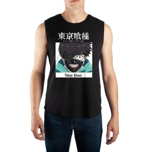 Tokyo Ghoul Anime Mens Graphic Muscle Tank
