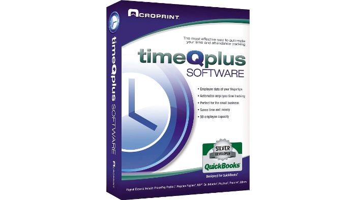TimeQplus Single Time Clock Software