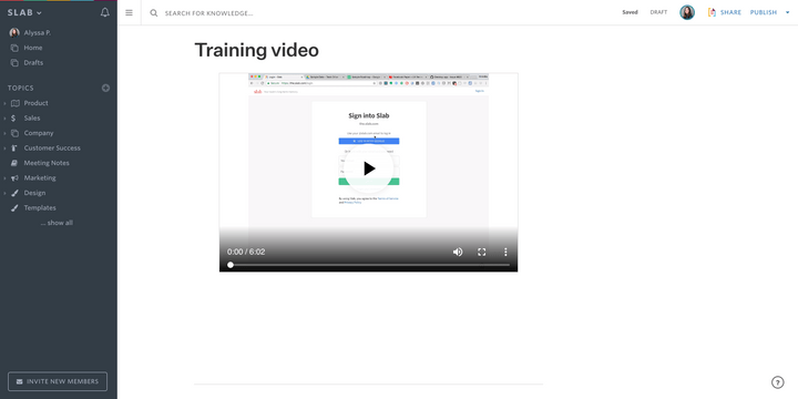 Embed videos from Dropbox