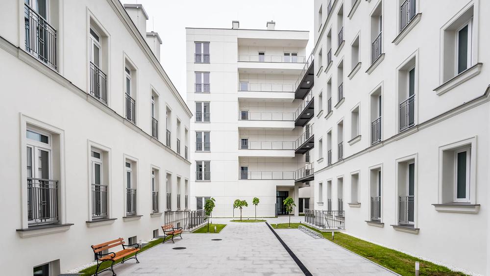 Jagiellońska 36 wizualizacja patio