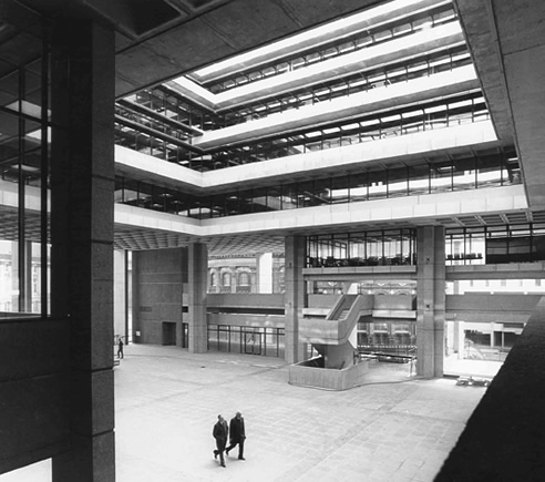 Inside Birmingham Central Library