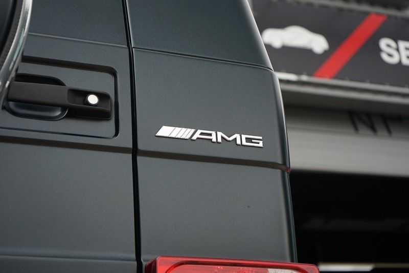 Mercedes-Benz G-Klasse 65 AMG DESIGNO MAGNO NIGHT BLACK afbeelding 13