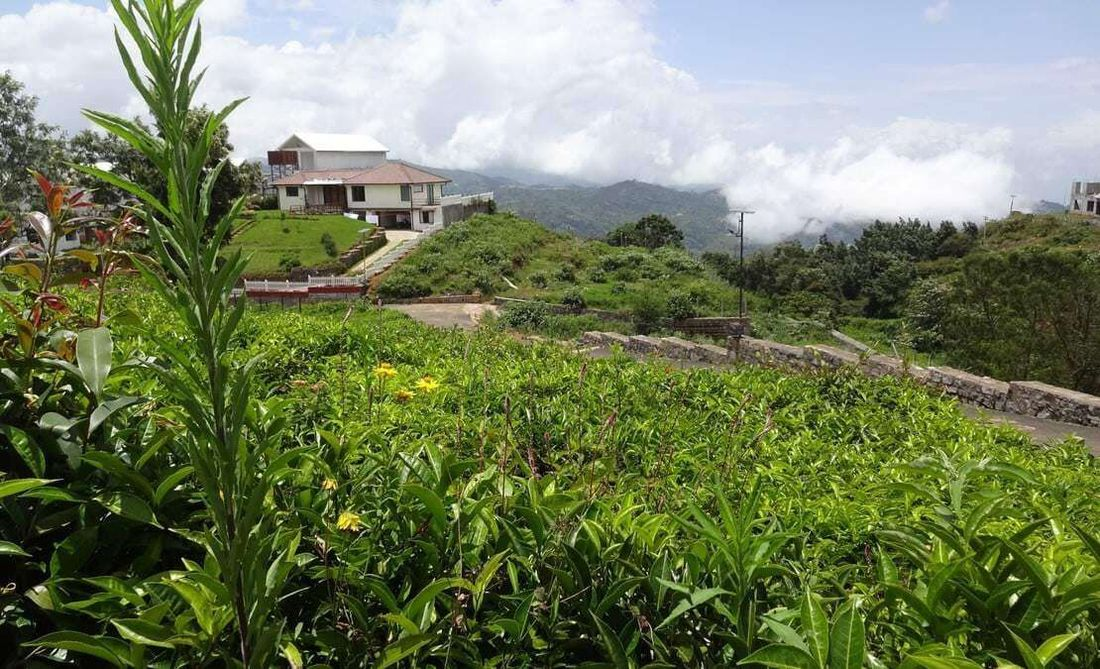 Seen is Xanadu, a homestay, with the clouds in the valley