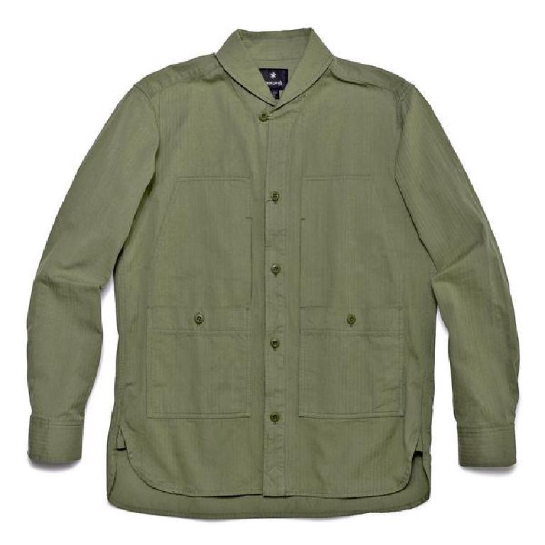 Army green utility shirt