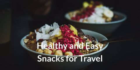 Think carefully before you leave. Have a cool bag and some cold packs or dry ice to keep everything fresh. Travel snacks is a must-have item.